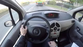 Renault Modus 1.4 16V (2004) - POV Drive