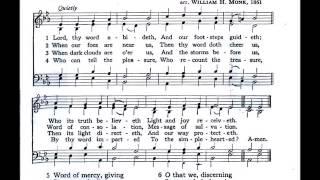 Lord, Thy Word Abideth (Ravenshaw)
