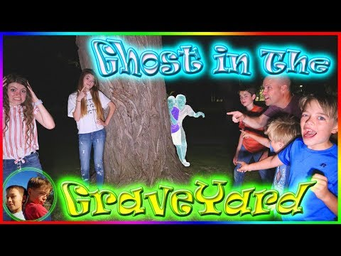 Ghost in The Graveyard with That YouTub3 Family / Steel Kids