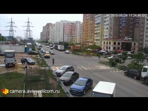 Авария, г. Котельники,  3-й Покровский проезд, 24.05.2015
