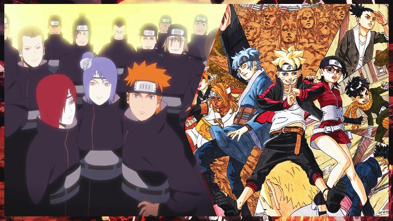 anime naruto boruto next generation: What If The Akatsuki Returned In Boruto Naruto Next
