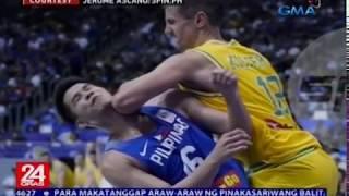 Giit ng Basketball Australia, hindi katanggap-tanggap ang inabot ng kanilang manlalaro sa rambulan