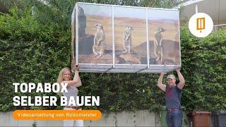 Topabox Mulltonnenbox Selber Bauen Video Anleitung Von