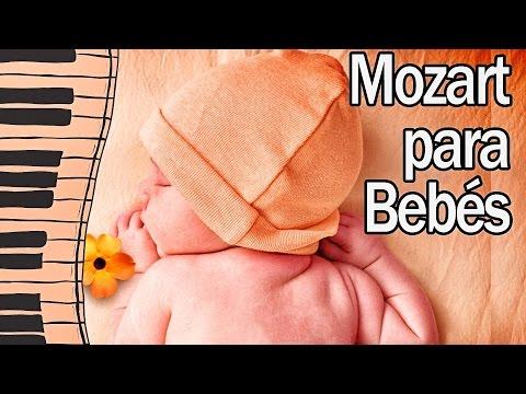 Lo mejor de Piano de Mozart para Dormir Bebés - Efecto Mozart - Relajar y calmar el llanto