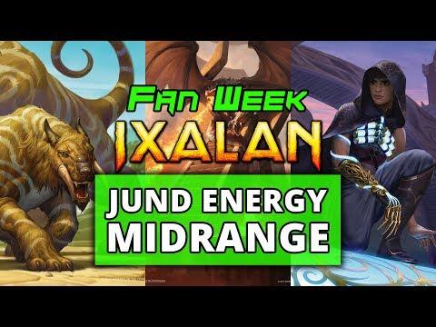 Fan Week Jund Energy Midrange Ixalan Standard | MTGO Stream