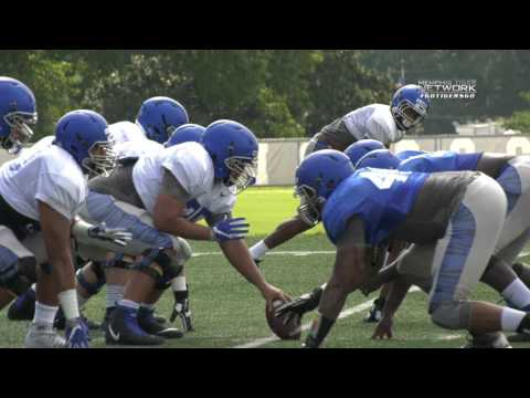 Memphis Football: Tigers Put on the Pads