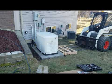 22KW GENERATOR INSTALL With 200amp ATS