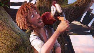 Робинзон Крузо: Очень обитаемый остров (2016) | Трейлер HD