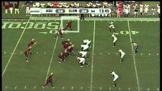 Aaron Mellette vs Appalachian State 2011
