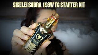 Sigelei Sobra 198w TC Starter Kit