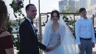 Красивая свадьба у моря в Одессе - Beautiful Wedding on the Sea beach.