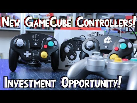 new-gamecube-controllers!-buy-them-now-before-they-go-for-$100!-smash-ultimate!