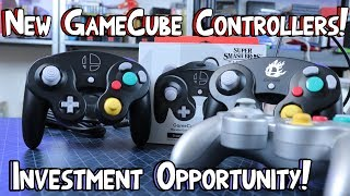 New GameCube Controllers! Buy Them Now Before They Go For $100! Smash Ultimate!