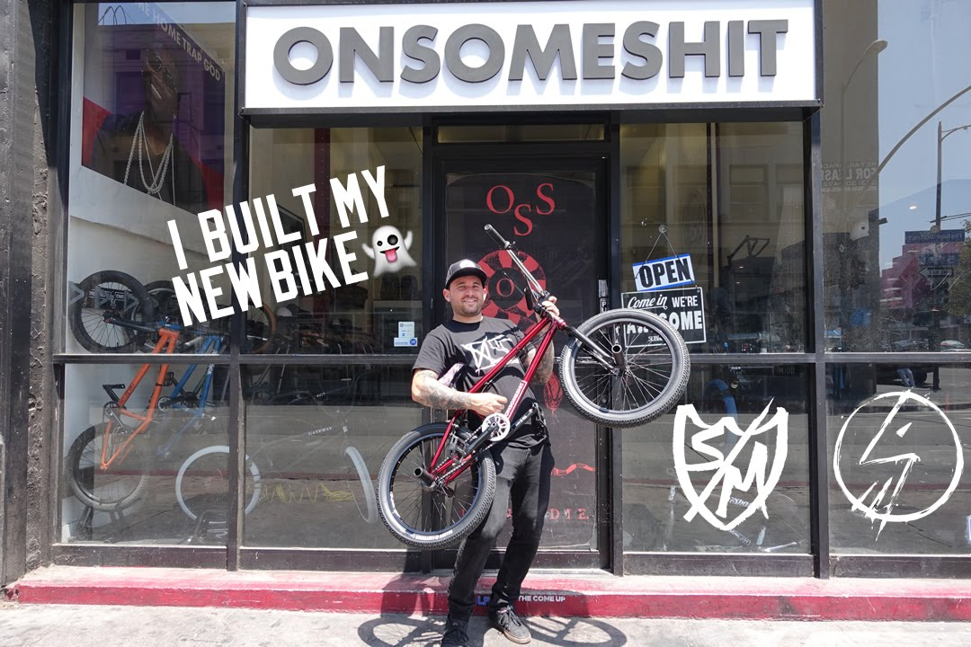 BUILDING UP MY NEW S&M & SHADOW BMX BIKE! - YouTube