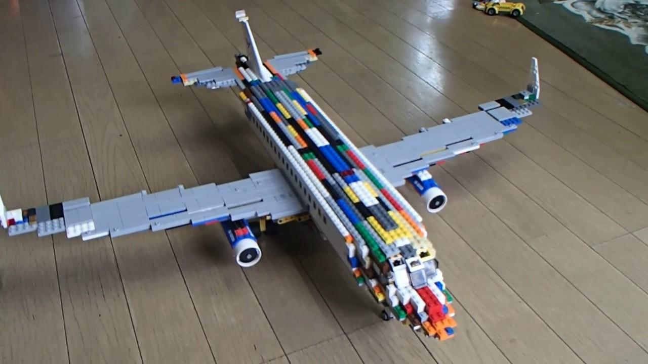 レゴで飛行機 B737を作ってみた!