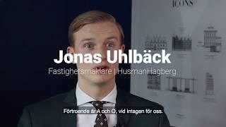 Fastighetsmäklare - Jonas Uhlbäck, HusmanHagberg