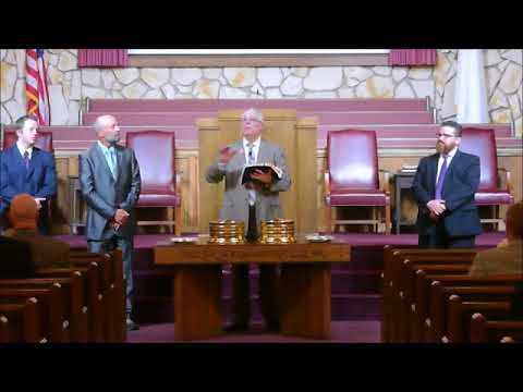 Lord's Supper At Parkview Baptist Church February 2018