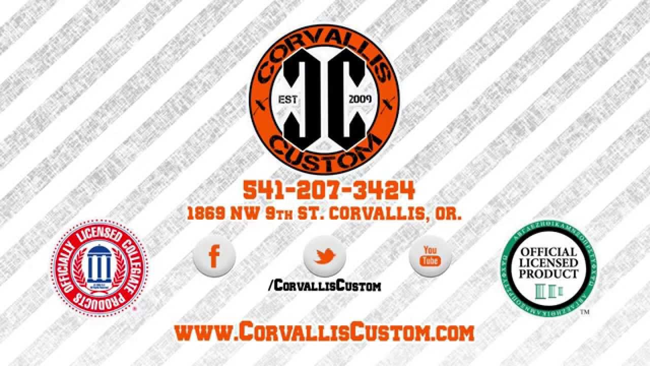 Licensed OSU Apparel, Screen Printing, Digital Printing, and Embroidery to  Corvallis & Albany