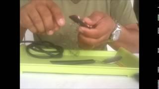 Iscas Caseira com cabo de colher
