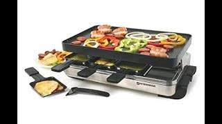 Top 7 Best Raclette Grills Reviews 2018. Most Popular Raclette Grills Sets for 2018