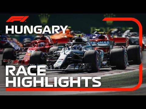 2018 Hungarian Grand Prix: Race Highlights