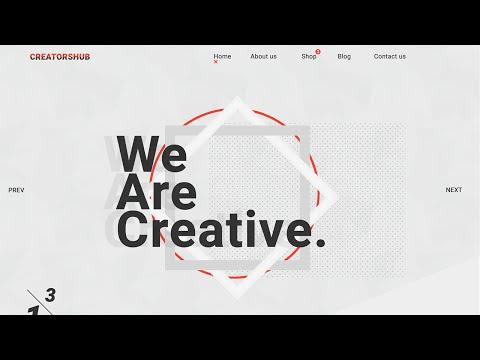 Web Design Speed Art - We Are Creative.