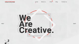Web Design Speed Art - We Are Creative.