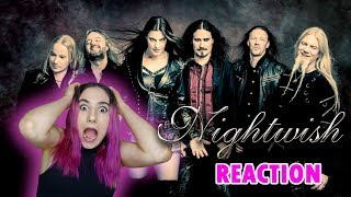NIGHTWISH - GHOST LOVE SCORE - ROMANTICIDE First Time REACTION and Review