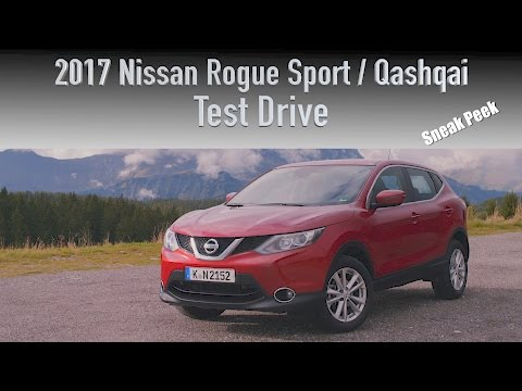 2017 Nissan Qashqai / Rogue Sport Review - North America's Newest SUV