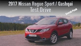 2017 Nissan Rogue Sport / Qashqai Test Drive  – North America's Newest SUV