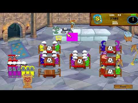 SpongeBob SquarePants Diner Dash 2 - Two Times The Trouble - Level #32 - Yelowfin Croakers
