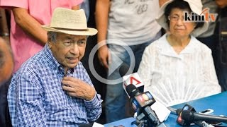Mahathir: Saya sokong rakyat, BERSIH itu rakyat