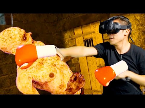 VR Real Life Zombie Boxing - Thrill of the Fight