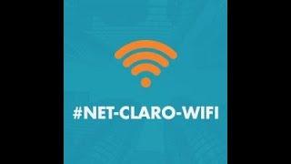 Como se conectar no NET-CLARO-WIFI