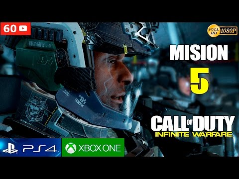 Call of Duty Infinite Warfare - Mision 5 Gameplay Español | Campaña Walktrough Parte 5 (1080p 60fps)