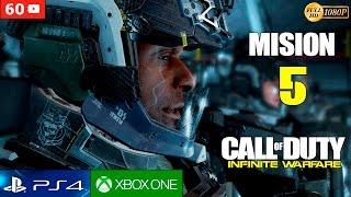 Call of Duty Infinite Warfare - Mision 5 Gameplay Español | Campaña Walktrough Parte 5 (1080p 60fps)