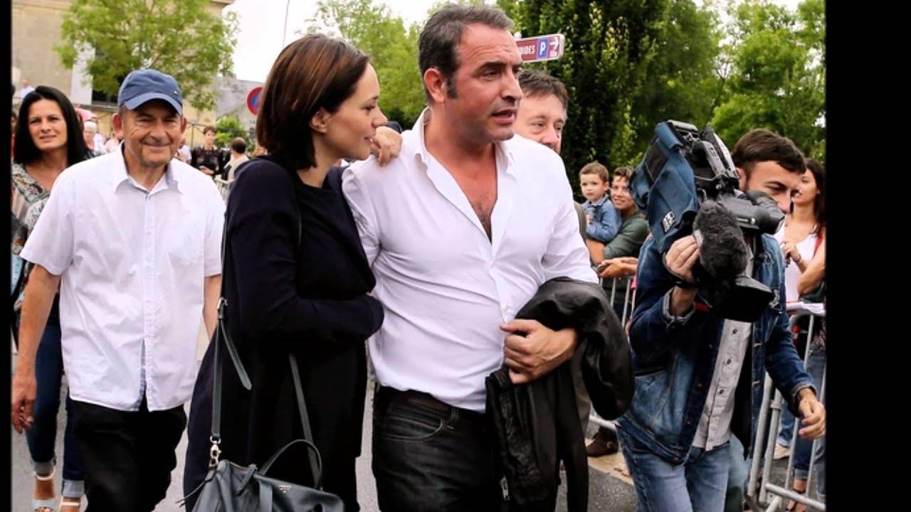 Nathalie p chalat enceinte de son premier enfant avec jean for Nathalie jean dujardin