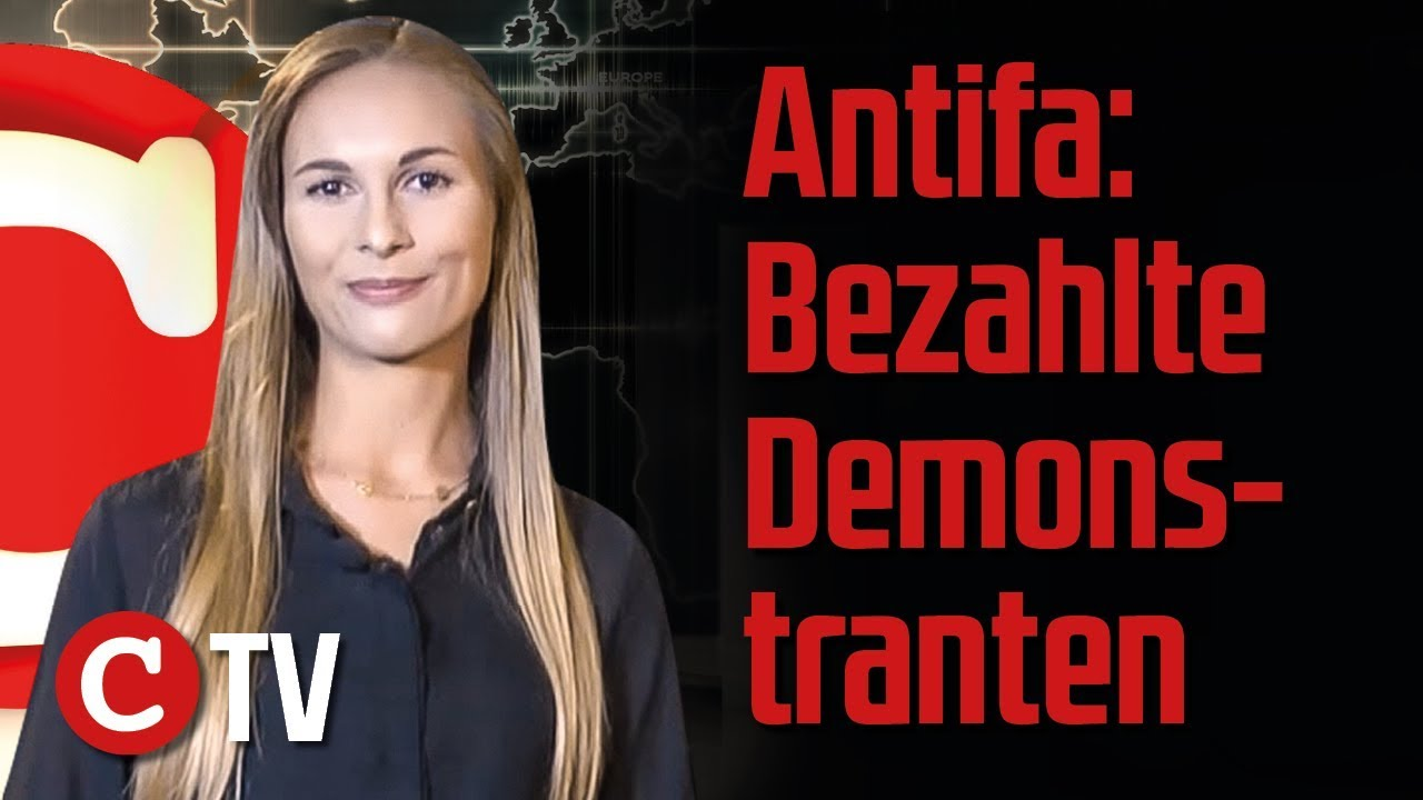 antifa bezahlte demonstranten uno migranten nach europa die woche compact youtube. Black Bedroom Furniture Sets. Home Design Ideas