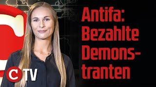 Antifa: Bezahlte Demonstranten, UNO: Migranten nach Europa – Die Woche COMPACT