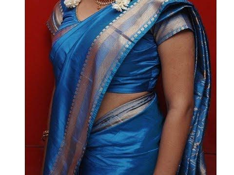 Hot Actress in indian dress traditional Silk saree