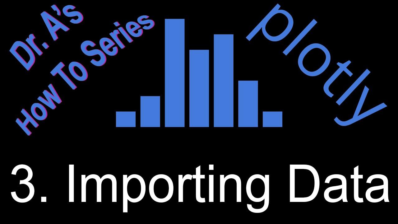 Plotly Importing Data