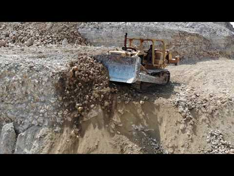 1972-79 OLD CAT DOZERS!**HD DRONE VIEW**