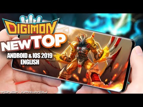 Top Digimon Games 2019 - Android IOS Gameplay