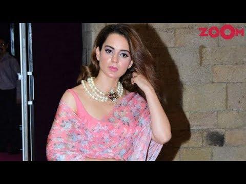 Kangana Ranaut AVOIDS media interaction at a fashion event & hosts Manikarnika special screening
