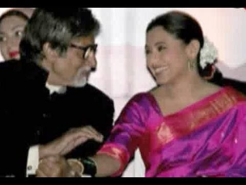 Amitabh Bachchan & Rani Mukerji bonding at an event in Pune