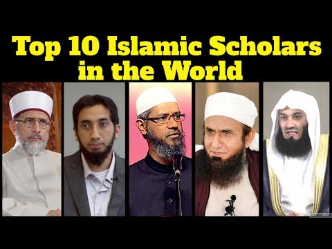 Top 10 Most Influential Islamic Scholars in the World | Famous Preachers and Speakers of Muslim