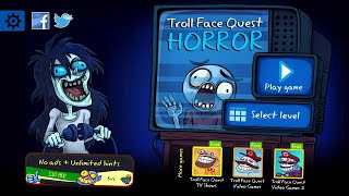 Troll Face Quest Horror All Levels Gameplay By Spil Games
