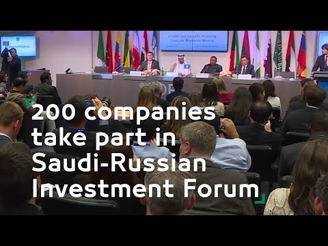 200 companies take part in Saudi Russian Investment Forum