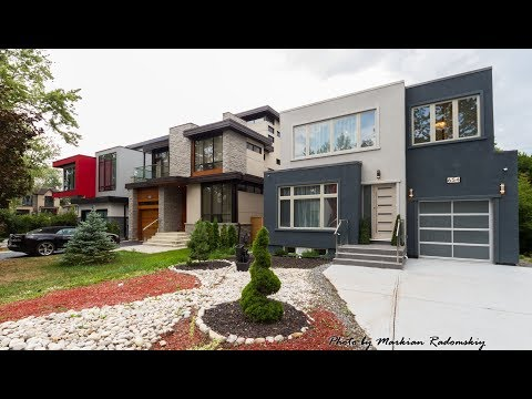 New Modern House for Sale In Toronto / Mississauga, 654 Byngmount Ave | © W4Y Video Productions 2017