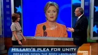 What Clinton's Body Said
